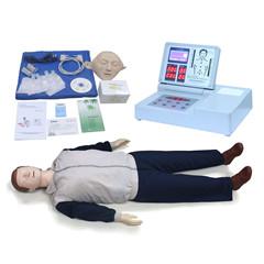 2013最新款急救训练模型,2010版指南标准电脑心肺复苏模拟人