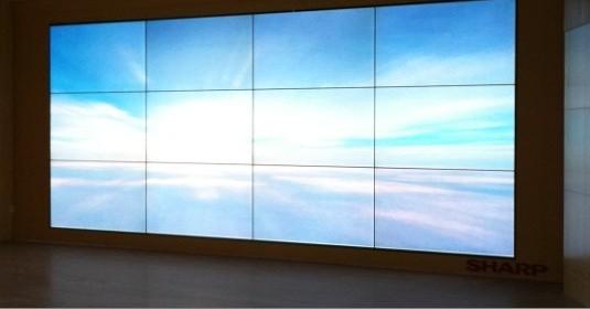孝感无缝大屏幕墙,三星46寸液晶拼接屏厂家