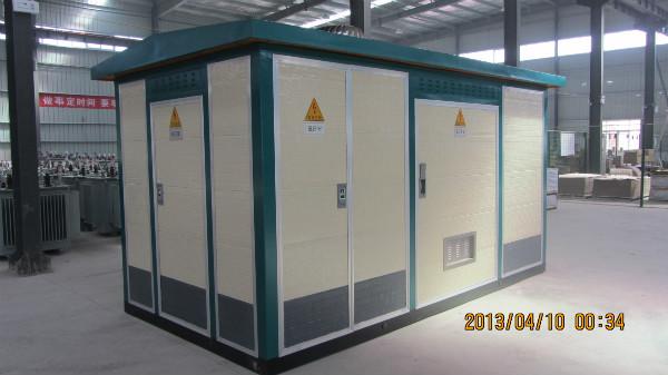 2500kva箱式变压器厂家,小区专用箱式变电站图片