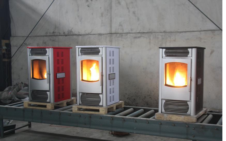 生物质颗粒壁炉