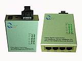 1光4电收发器,1光4电光电转换器,一光四电收发器
