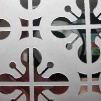 蚀刻镂空花纹不锈钢蚀刻板-佛山市