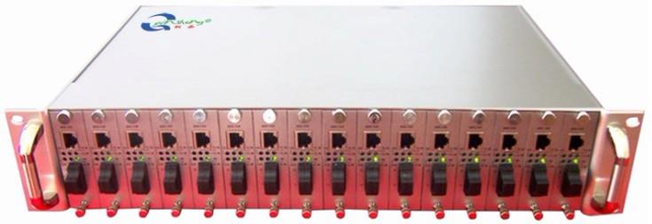16槽卡式收发器机架,卡式收发器机架,卡式收发器机箱