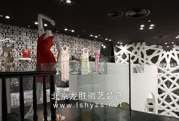 北京复古服装店装修