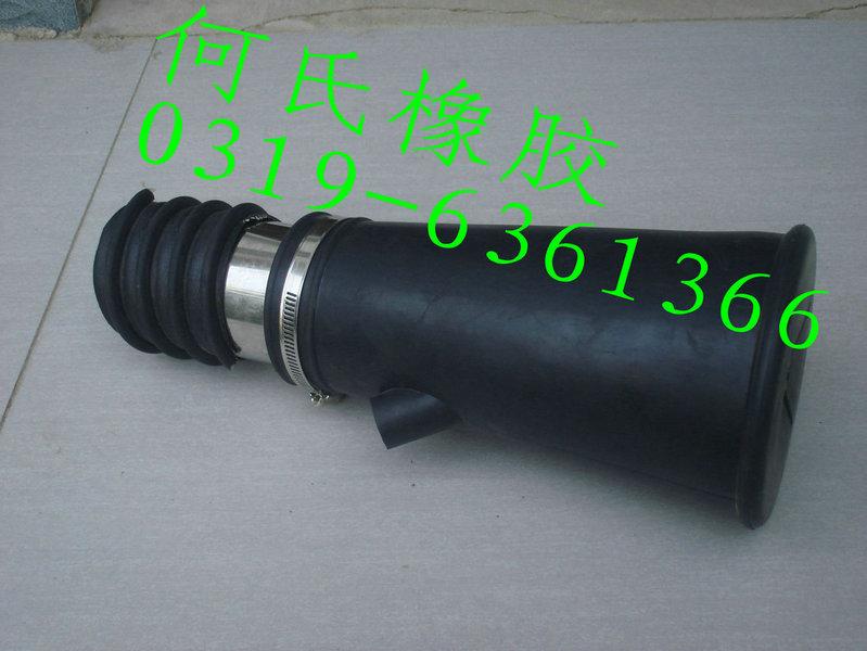 尾气管嘴汽车排气管嘴排气管接头橡胶吸嘴汽车尾气抽排专用管