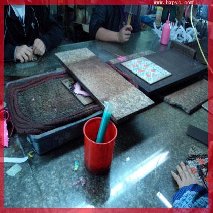 上海来图定做pvc行李牌