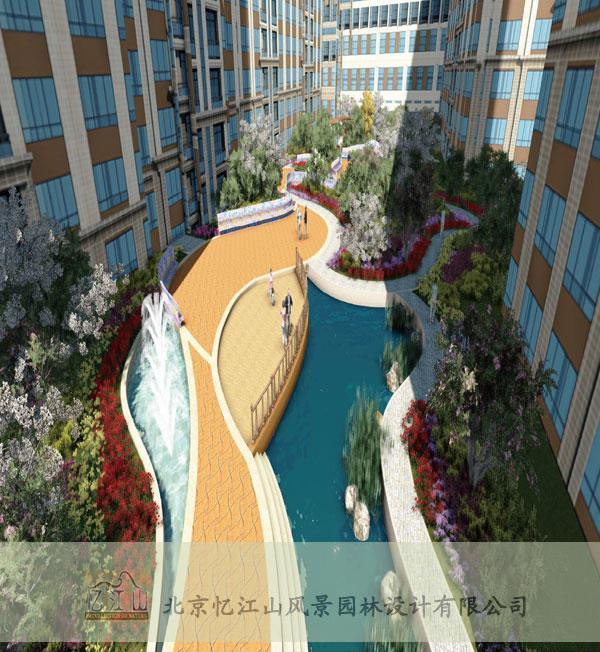 山东汇金广场景观设计项目图片
