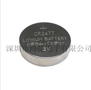 煤矿跟踪卡CR2450 CR2477纽扣锂电池