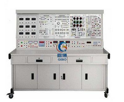 电工电子电力拖动plc变频调速实验台