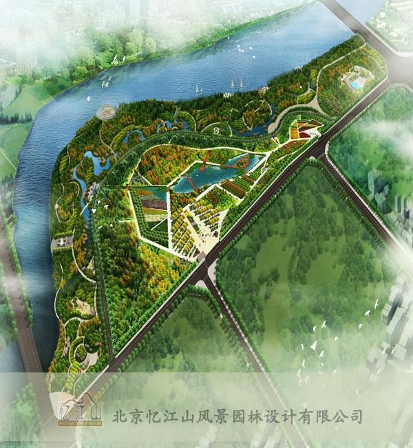 临沭县植物园景观设计