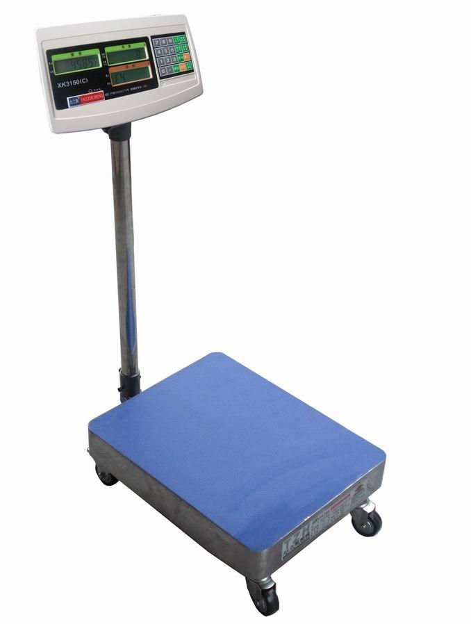 100kg可移动式台秤