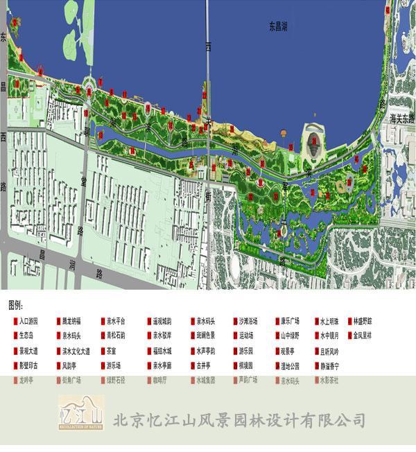 山东聊城东昌湖景区规划
