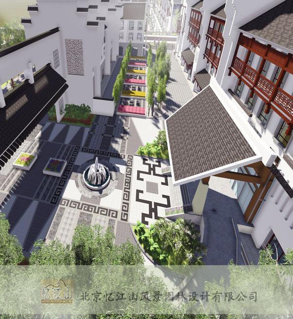 山东商业街景观设计-钱眼产品