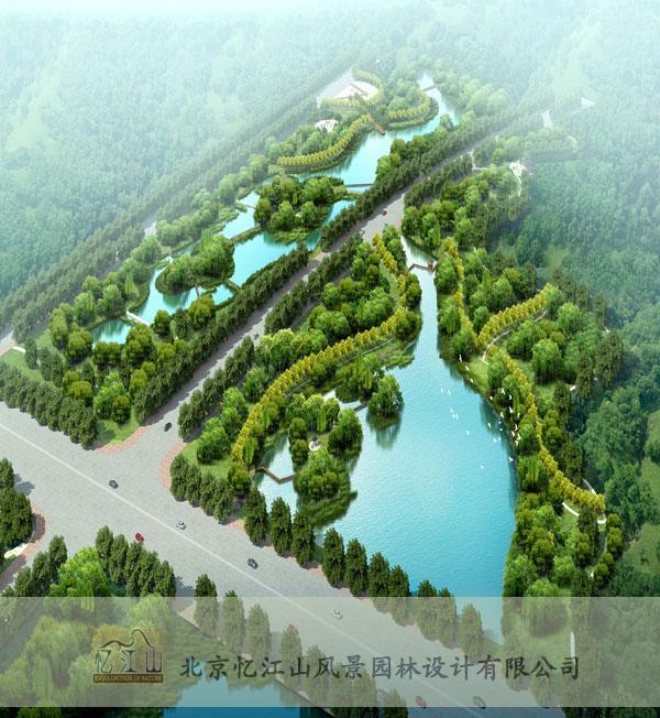 莱州河套湿地公园雕塑设计-北京忆江山风景园林设计
