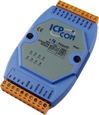 泓格I-7060D继电器输出模块