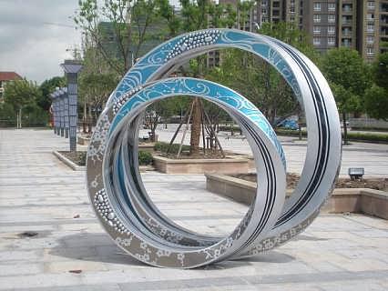 邵阳专业不锈钢雕塑制作-高档艺术雕塑批发-钱眼产品