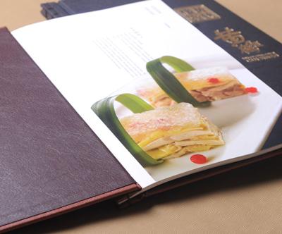 田鸡酒店印刷加盟-餐牌制作装订-精装菜牌印刷好吃的菜谱餐饮装订图片