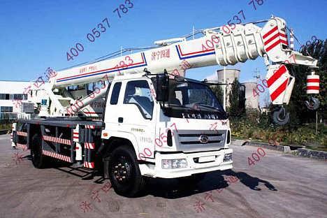 16吨汽车吊 小吊车价格 液压小型吊车图片