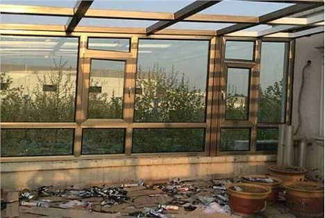 无锡隔热铝合金结构阳光房 钢结构阳光房 铝合金玻璃阳光房 雷克斯供