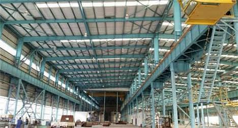 大跨度钢结构厂房,株洲钢结构厂房,华远钢构图