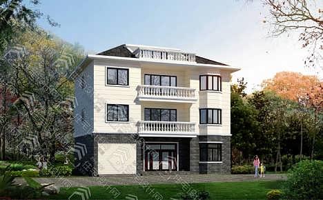 新农村四层自建房,独栋住宅全套设计图-钱眼产品