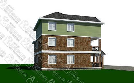 新农村三层自建房,独栋住宅全套施工图