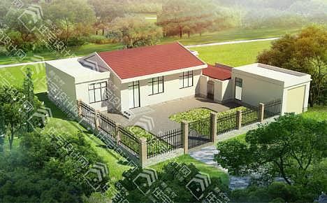 新农村四层别墅,房屋设计图
