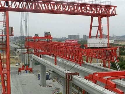 广东架桥机路港起重双导梁架桥机价格图片