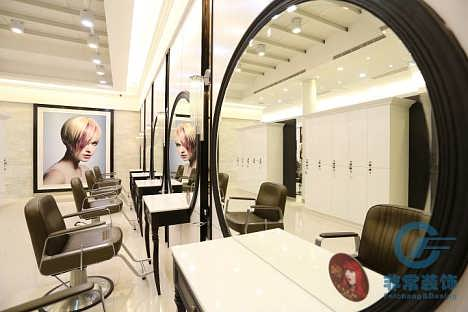 广州非常装饰专注发廊装修设计广州美容美发店装修