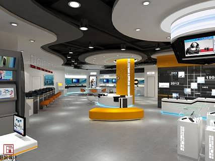济南展厅卖场装修设计-钱眼产品