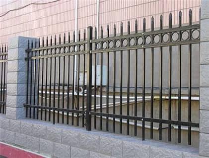 山西铁艺护栏网冠合铁艺生产厂家组装铁艺护栏网