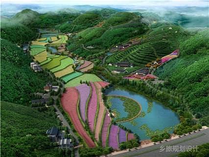 观光农业规划 农业旅游规划设计公司 农业旅游规划 乡