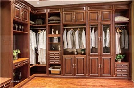 美国红橡木衣柜直销 商家信誉好 帮洛尼公司图片