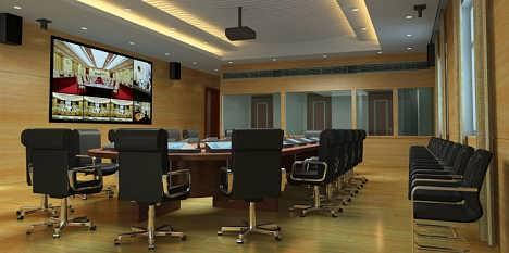 行政会议中心多媒体会议室方案