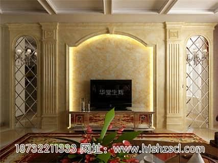 欧式背景墙,pvc整体背景墙,pvc木塑装饰墙板,实木线条,实木花框,石塑