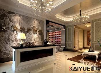 复古欧式风-美空护肤养生馆室内设计