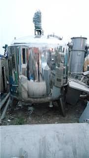 出售二手3吨不锈钢电加热配料罐价格-梁山县飞海二手化工设备经营部