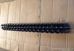 大量供应 B19锚杆钻杆 B22钻杆 麻花钻杆 质量好 价格低-吉林市利达矿山机械有限公司