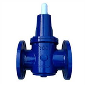 漳州冠龙y110 减动压也减静压 水平垂直安装 自力常开式减压阀图片