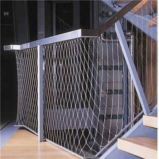 动物园专用网,产品采用韩国,日本进口的优质不锈钢丝,经独特工艺拧编
