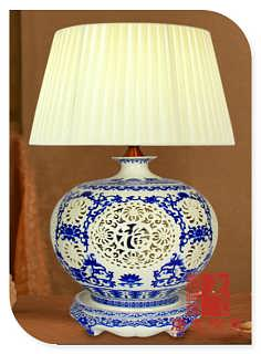 陶瓷灯具定制厂家-景德镇琪伟瓷厂销售部