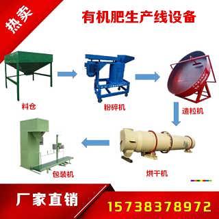 郑州生物有机肥设备 有机肥成套设备生产厂家