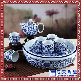 整套玲珑陶瓷镂空蜂窝茶具套装创意茶杯景德镇礼品-景德镇市辰天陶瓷有限公司.