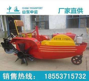 供应机耕船厂家 船式拖拉机包邮图片