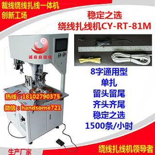 广东深圳自动扎线机 全自动绕线扎线机适用USB线,手机线【东莞诚焱自动化】