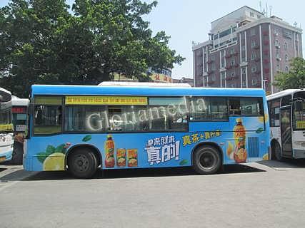 石狮发布公交车广告效果-南京国广联传媒股份有限公司市场部