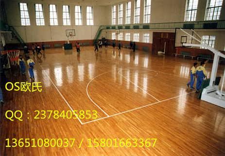 篮球木地板价格 郑州篮球场地板价格