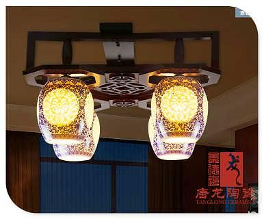 陶瓷吸顶灯-景德镇琪伟瓷厂销售部