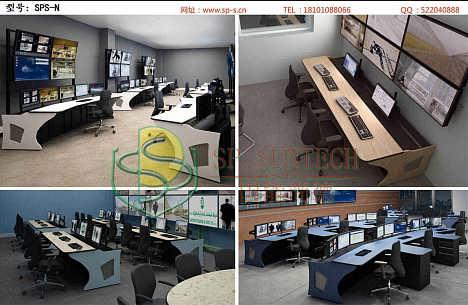 黑河中控室控制台/监控室工作台制造厂家