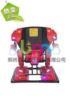 吉林白城爆款儿童行走机器人游乐超火爆-郑州百美游乐设备有限公司.
